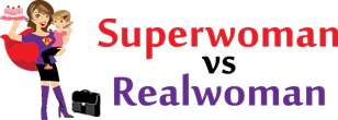 Superwoman vs Realwoman Logo